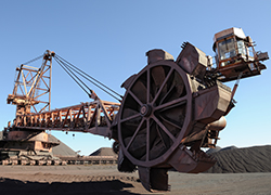 Stacker Reclaimer from Mine in South Africa
