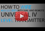 How-to Wire Universal IV Level System